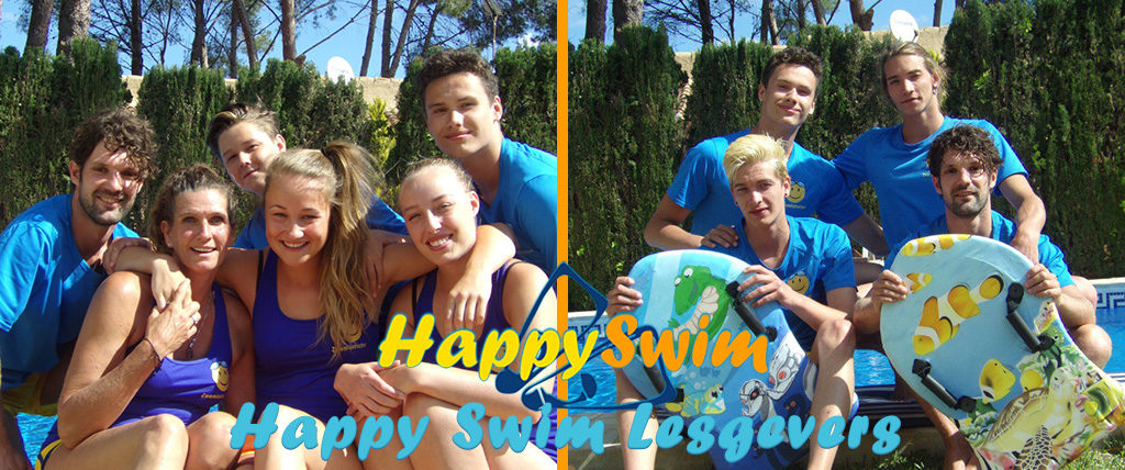 Happy Swim Lesgevers banner